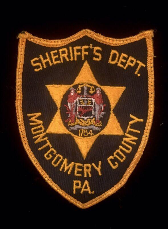 Montgomery County Pennsylvania Sheriff Patch