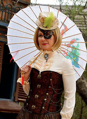 Steampunk Mini Top Hat Cosplay Alice in Wonderland Victorian Halloween Lolita