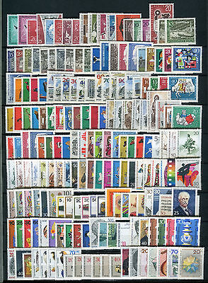 Berlin Sammlung von 1958 - 1990 mit Blocks 2 -  8 Postfrisch + Einzelmarken.