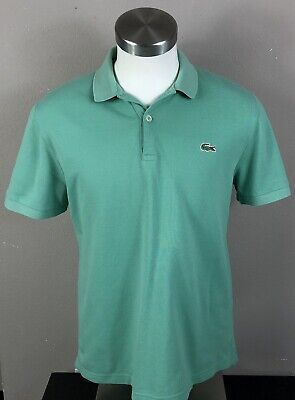 Lacoste Live Green Classic Polo Size 5