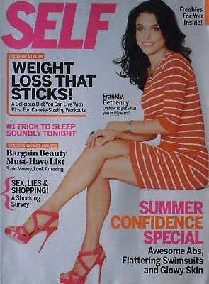Bethenny Frankel May 2012 Self Magazine