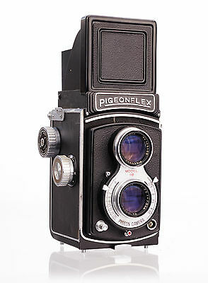 Yashica Pigeonflex 1b Replacement Cover  - Genuine Leather