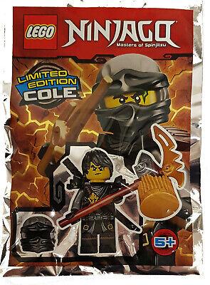 Lego® Ninjago™ Cole mit Hammer Limited Edition Minifiguren Neu & OVP  ()