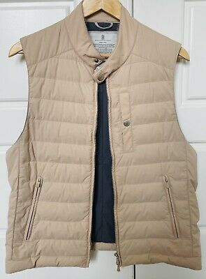 Brunello Cucinelli Mens Vest Medium