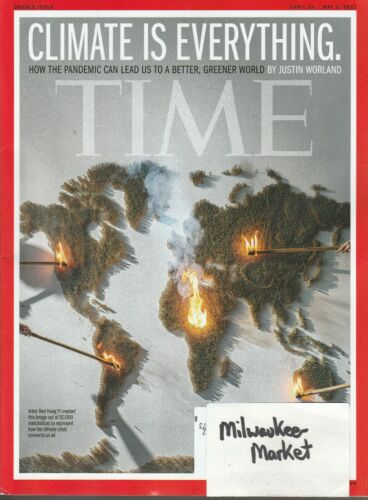 Time April 26 May 3 2021 Climate Is Everything Pandemic Free Fast SnH Best Deal!