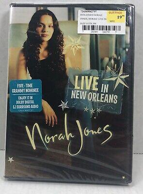 Norah Jones - Live in New Orleans (DVD, 2003)New/Sealed Concert Performance (Norah Jones Live In New Orleans 2003)