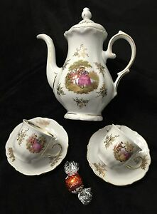 Winterling Roslau Bavaria - Miniature Tea Set