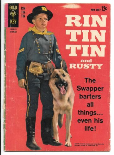 Rin Tin Tin and Rusty #1 (November 1963, Gold Key)