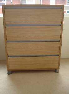 Bedroom Chest of Drawers Chatswood Willoughby Area Preview