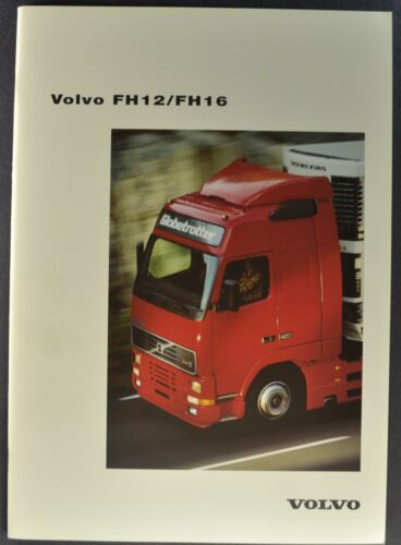 1996-1997 Volvo Truck Brochure FH12 FH16 Globetrotter Original German Text
