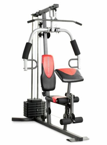 Weider 2980 Home Gym Fitness Machine Exercise Workout Weights Bench System