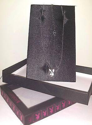 PLAYBOY  Halskette Bunny Klassisch Silber Strass  Modeschmuck  NEU OVP