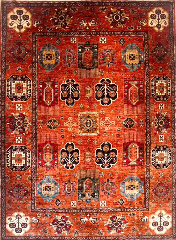 Hand-knotted Rug (Carpet) 9X12