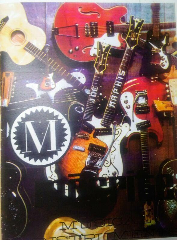 1968 Mosrite Guitar Catalog Re-Print