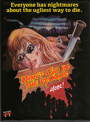 Don't go in the Woods alone ! , 2 discs limited Mediabook , 100% uncut , new , A (Halloween 2 1981 Uncut Dvd)