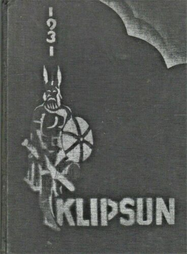 "1931 ""Klipsun"" - Washington State Normal School Yearbook - Bellingham, Wash."