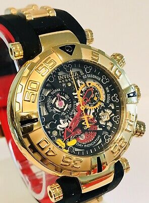 "Invicta ""Mickey"" Reserve Subaqua Noma I ISA Chrono Limited Ed Qtz Mens Watch"