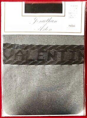 Jonathan Aston Be My Valentine Nylon Stockings Black Size B