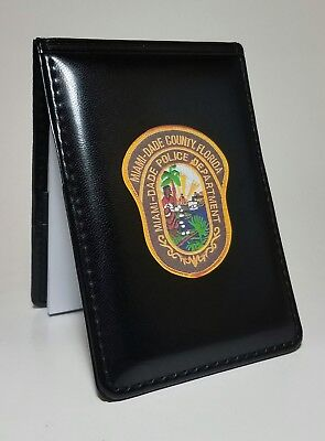 - MIAMI-DADE POLICE BLACK POCKET NOTEBOOK POLICE SHERIFF UNIQUE NOTEPAD