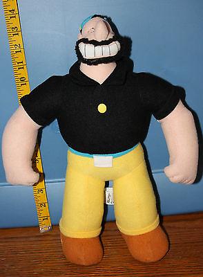 BRUTUS Popeye Plush Doll 2005 Kellytoy King features free shipping yellow black