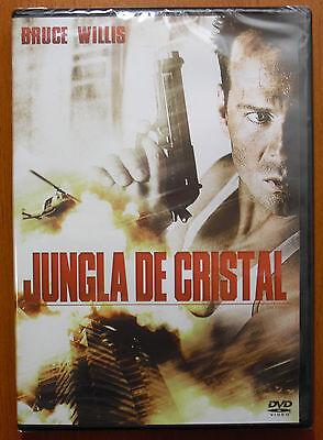 Jungla de Cristal (Die Hard) [DVD] Bruce Willis, Alan Rickman ¡NUEVO A...