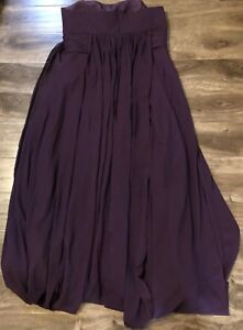 Forher plum dress