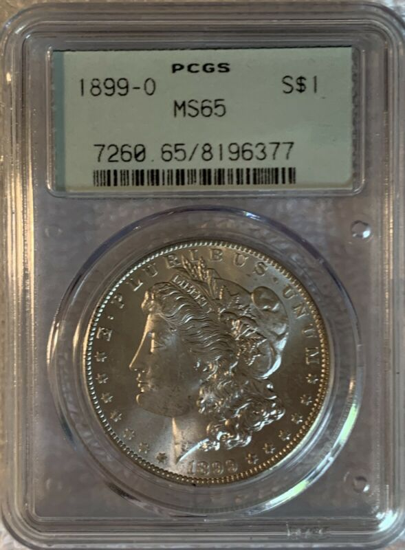 Morgan Silver Dollar 1899 - 0 - MS 65 - PCGS