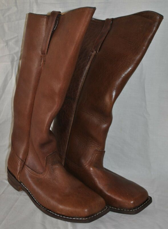 Cavalry Boots Brown Sizes 6-14 - 6 To 8 Week Delivery - Civil War  FREE SHIPPING