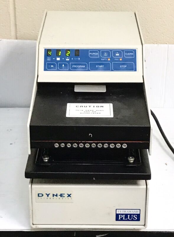 Dynex Technologies Ultra Wash Plus Microplate Washer #12582