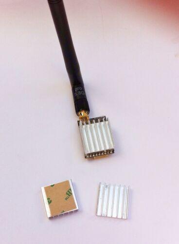 Kühlkörper 20mm X 20mm mit 3M Transferkleber für FPV Sender usw.