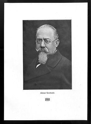 Cesare Lombroso Begründer der Positiven Schule der Kriminologie Essay von 1906