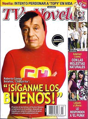 ROBERTO GOMEZ BOLANOS CHESPIRITO TRIBUTE TV Y NOVELAS JANUARY 2015 NEW