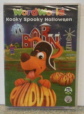 WordWorld: Kooky Spooky Halloween (DVD, 2008) BRAND NEW  - Word World Spooky Halloween
