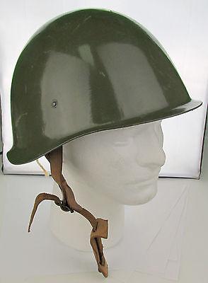 Hungarian Steel Helmet - OLIVE DRAB - European Military Surplus