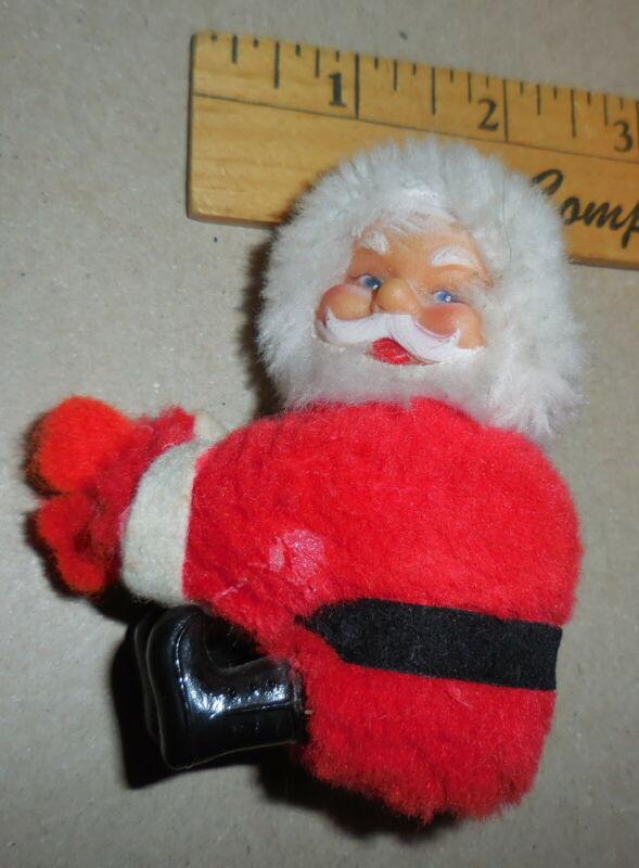 vintage Santa Claus Clip on red color