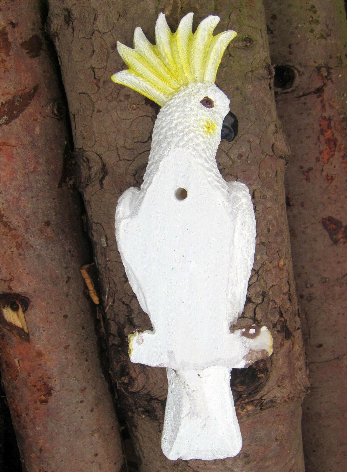 Tukan H:30cm zum aufhängen Baum Wand Deko natürlich Figur Vogel Wanddeko