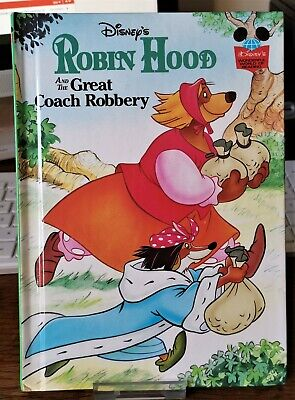 Robin Hood and the Great Coach Robbery (Disney's Wonderful World of Reading,HB)