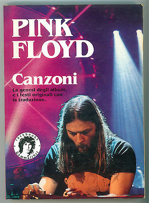 PINK FLOYD CANZONI KAOS 1992 GAMMALIBRI MUSICA ROCKBOOKS