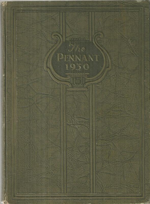 1930 Elkhart High School Yearbook Elkhart Indiana