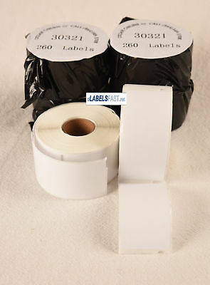30321 Mailing Labels For Dymo Costar Labelwriter Duo 4xl Bc 400 450 Twin Turbo