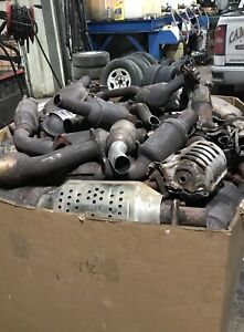 I buy catalytic converters and many more