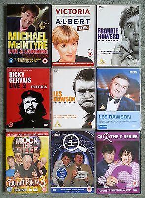 Victoria Wood Les Dawson Frankie Howerd McIntyre Gervais Qi TV Comedy DVD Bundle