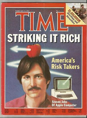 Shipping Time Calculator (TIME Magazine February 15, 1982 - Steven Jobs of Apple Computer - Free)