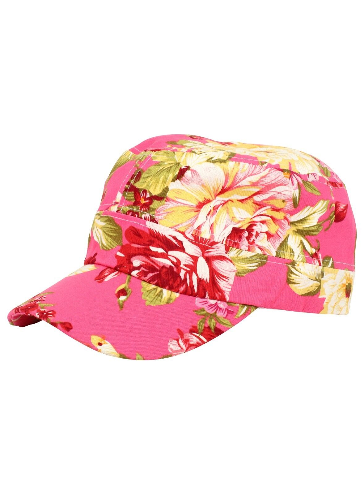 9f551e17a62d3 Ladies Baseball Cap Floral New Hat Festival Cotton Summer Womens ...