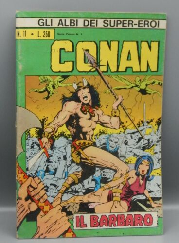 1973 vintage Marvel Comics Italy CONAN the BARBARIAN #1 comic book Italy RARE !!