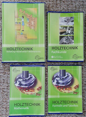 Holztechnik Europaverlag (Fachkunde, Gestaltung, Mathematik, Formlen & - Holz Kunde