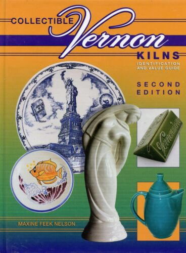 Vernon Kilns Poxon China Pottery - Identification and Values / Illustrated Book