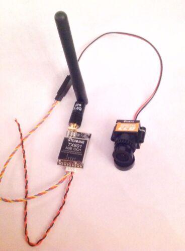FPV Mega-Set mit Eachine TX801 Sender 0,01-600mW & 1000 TVL 1/3