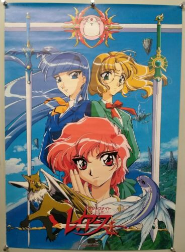 MAGIC KNIGHT RAYEARTH - A1 size Poster Rare CLAMP Style 03