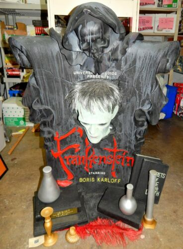 Frankenstein Boris Karloff Timeless Illusive Originals Statue Bust LTD ED 1997